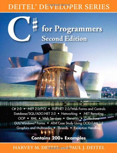 C# for Programmers (2nd Edition), Deitel, Harvey M.; Deitel, Paul J.