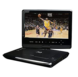 Azend Group Corp BDP-M1061 Maxmade Portable 10-Inch Blu-Ray DISC/DVD Player (Black) from Azend Group Corp