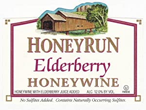 NV HoneyRun Winery Elderberry Honeywine 750 mL
