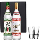 Stolichnaya Vodka Duo Gift Set