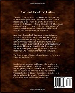Ancient Book Of Jasher: Referenced In Joshua 10:13; 2 Samuel 1:18; And 2 Timoth