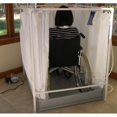 Wheelchair Accessible Portable Shower Stall Standard Model (Handicap Shower Wheelchair compare prices)
