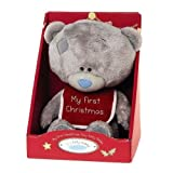 Me to You 6.8-inch My First Christmas Tiny Tatty Teddy Bear