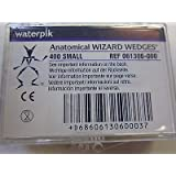Waterpik 61306 Wizard Wedges, Anatomical, Small, Natural (Pack of 400)