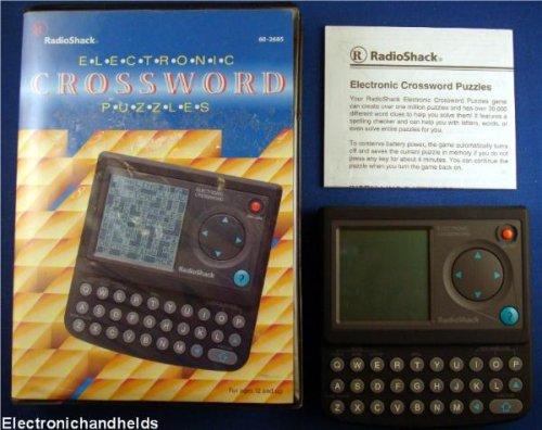 Radio Shack Electronic Crossword Puzzles - 1