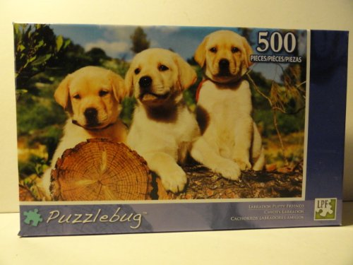 Puzzlebug Labrador Puppy Friends 500 Piece Jigsaw Puzzle - 1