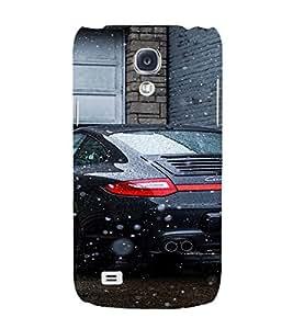 EPICCASE Porsche Car Mobile Back Case Cover For Samsung Galaxy S4 (Designer Case)