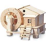 Wasserrad QUAY Holzkonstruktion Kit FSC