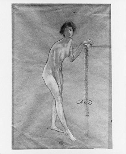 "Nude Study Poster Print by Arthur B Davies (American Utica New York 1862 ""1928 Florence) (18 x 24)"