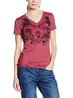 Burton Camiseta Manga Corta Ferny (Granate Lavado)