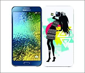 Galaxy Printed 2964 Tribal Chic Cato Hard Cover for Samsung A5