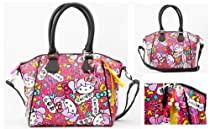Hello Kitty Japanimation Bag Cross Body Bag,Multi,One Size