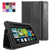 Poetic Slimbook Case for New Kindle Fire HD 7 2nd Gen (2013) 7inch Tablet Black (3 Year Manufacturer Warranty...