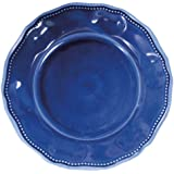 Le Cadeaux 9 in. Prov Solid Blue Salad Plate