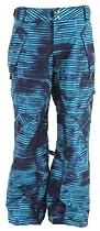 Ride Phinney Insulated Ski Snowboard Pants Stripe Grime Print Sz XL