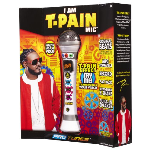 I am T-Pain - Microphone Karaoke - Blanc (Import Royaume Uni)