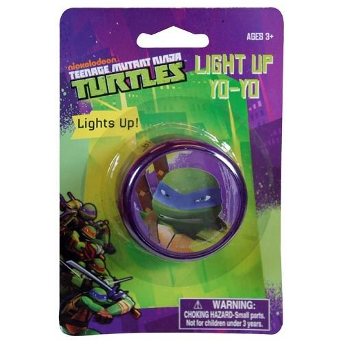 Teenage Mutant Ninja Turtles Light Up Glow Yo Yo for Indoor or Outdoor Fun - 1