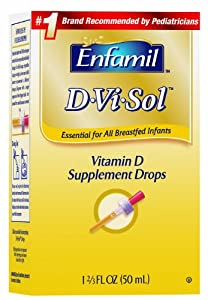 Enfamil美赞臣婴幼儿维生素D滴剂D-Vi-Sol, Vitamin D 50ml 折后SS $5.93