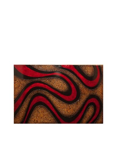 Eunique Donoma Picture Panel, Red/Tan