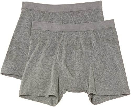 fruit-of-the-loom-mens-classic-2-pack-boxer-shorts-grey-medium