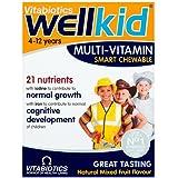 Vitabiotics Well Kid Cjewable Smart Mulivitamins All Natural Flavours, 30 Chewable