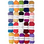 TYH Supplies 20 Skeins Bonbons Yarn A...