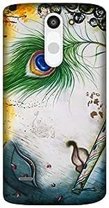 The Racoon Lean Krishna hard plastic printed back case for LG G3 Stylus