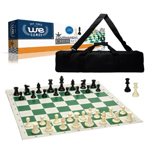 Wood Expressions Tournament Chess Set With Canvas Bag 3