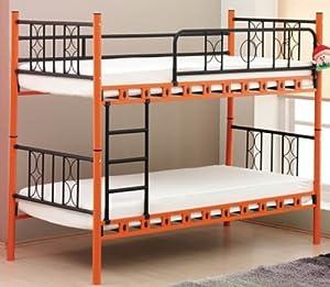 etagenbett slim aus metall einzeln stellbar vipack. Black Bedroom Furniture Sets. Home Design Ideas