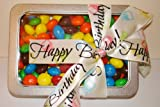 Birthday american peanut butter M&M's gift tin (400g)