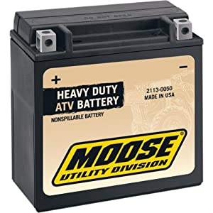 Moose Utility Factory-Activated AGM Maintenance-Free Battery MOOM72X5B