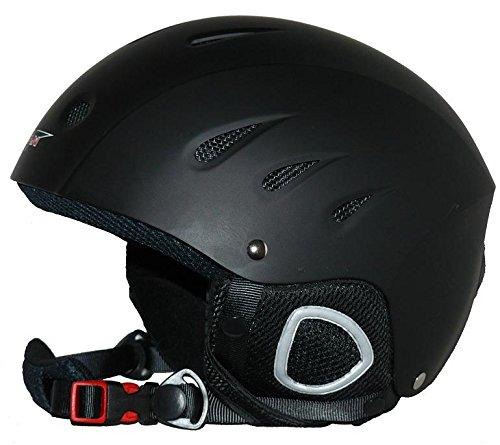 Skihelm VS-610 matt-schwarz