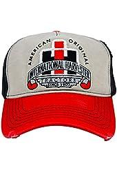 IH Distressed Tri Tone Logo Cap