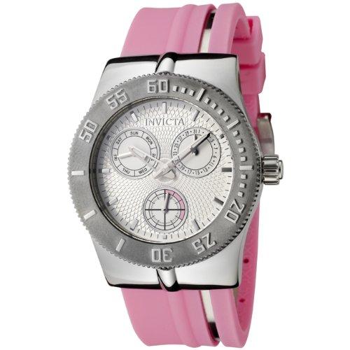 Invicta Women's 5918 Wildflower Collection Pink Polyurethane Watch
