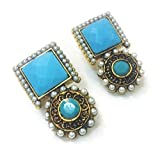 Divinique Jewelry Turquoise Desire earrings