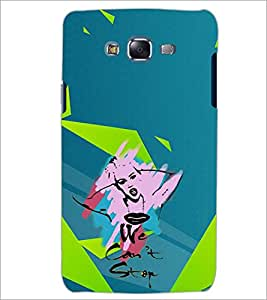 PrintDhaba WE CANT STOP D-6622 Back Case Cover for SAMSUNG GALAXY ON7 (Multi-Coloured)