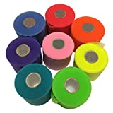 Mueller Rainbow Pack of Sports Pre-Wrap (8 colors!),30 Yards,Rainbow