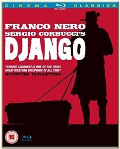 Django Newly Re-mastered in HD ALL REGIONS [Blu-ray]