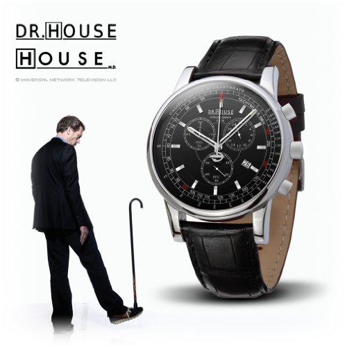 Kronsegler House Gents Chronograph Black