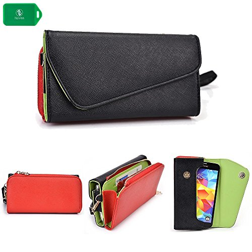 huawei-ascend-y300-f1-wild-red-wristlet-phone-case-fashionable-and-affordable-holds-your-cash-cards-