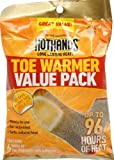 Heatmax HotHands Adhesive Toe Warmer Value Pack