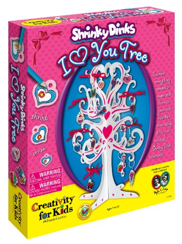 I Heart You Shrinky Dinks Craft Kit