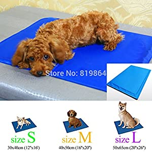 Amazon Com Size L New Cool Dog Canine Pet Bed Cooler Mat