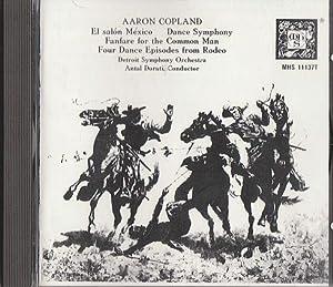 Aaron copland antal dorati detroit symphony for Aaron copland el salon mexico