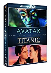 Coffret Blu-ray 3D : Avatar + Titanic [Blu-ray]