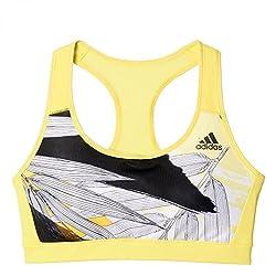 adidas Full Cup Bra (AK1532_Yellow_XSAB)
