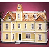 Real Good Toys Real Good Toys Bostonian Dollhouse Kit - 1 Inch Scale, Milled MDF Wall Finish, Medium Density Fiberboard