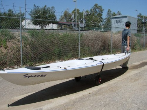 New Jon Boat Kayak Canoe Carrier Dolly Trailer