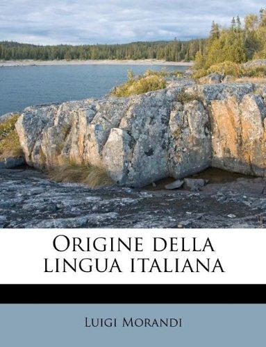 Origine della lingua italiana