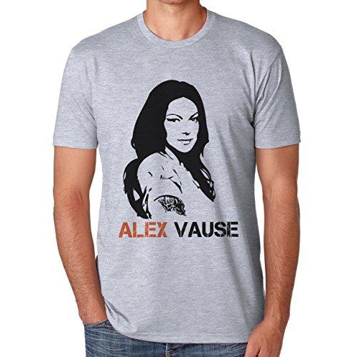 Alex Vause Stencil Portrait Orange Is The New Black Large Uomini T-Shirt
